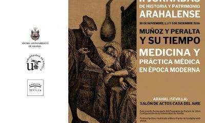 AionSur tripticoexterior-2-400x240 Comienzan con dos conferencias las II Jornadas de Historia y Patrimonio arahalense Agenda Cultura