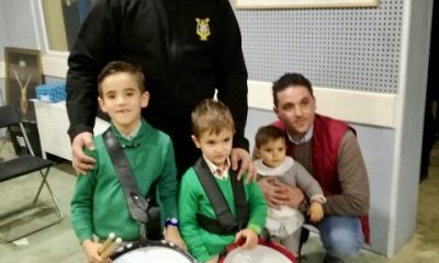 AionSur IMG-20161226-WA0033-400x240 Cayetano y Álvaro tienen ya sus nuevos tambores gracias a los músicos de Nuestro Padre Jesús Nazareno de La Roda Asociaciones Sociedad