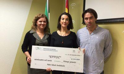 AionSur IMG_4217-400x240 El primer premio 'Reto de Salud Andalucía', para tres profesionales andaluces de los Hospitales Virgen Macarena y El Tomillar y del Distrito Sanitario de Huelva Salud