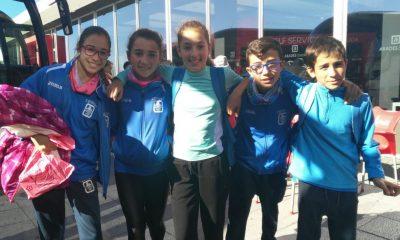 AionSur infantiles-400x240 Cuatro infantiles del Ohmio ganan el Cross Nacional Castellano-Manchego de Quintanar de la Orden con la Selección Sevillana Atletismo Deportes