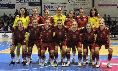 AionSur selección-400x240 España, subcampeona del Cuatro Naciones de Alcázar de San Juan Deportes Fútbol Sala