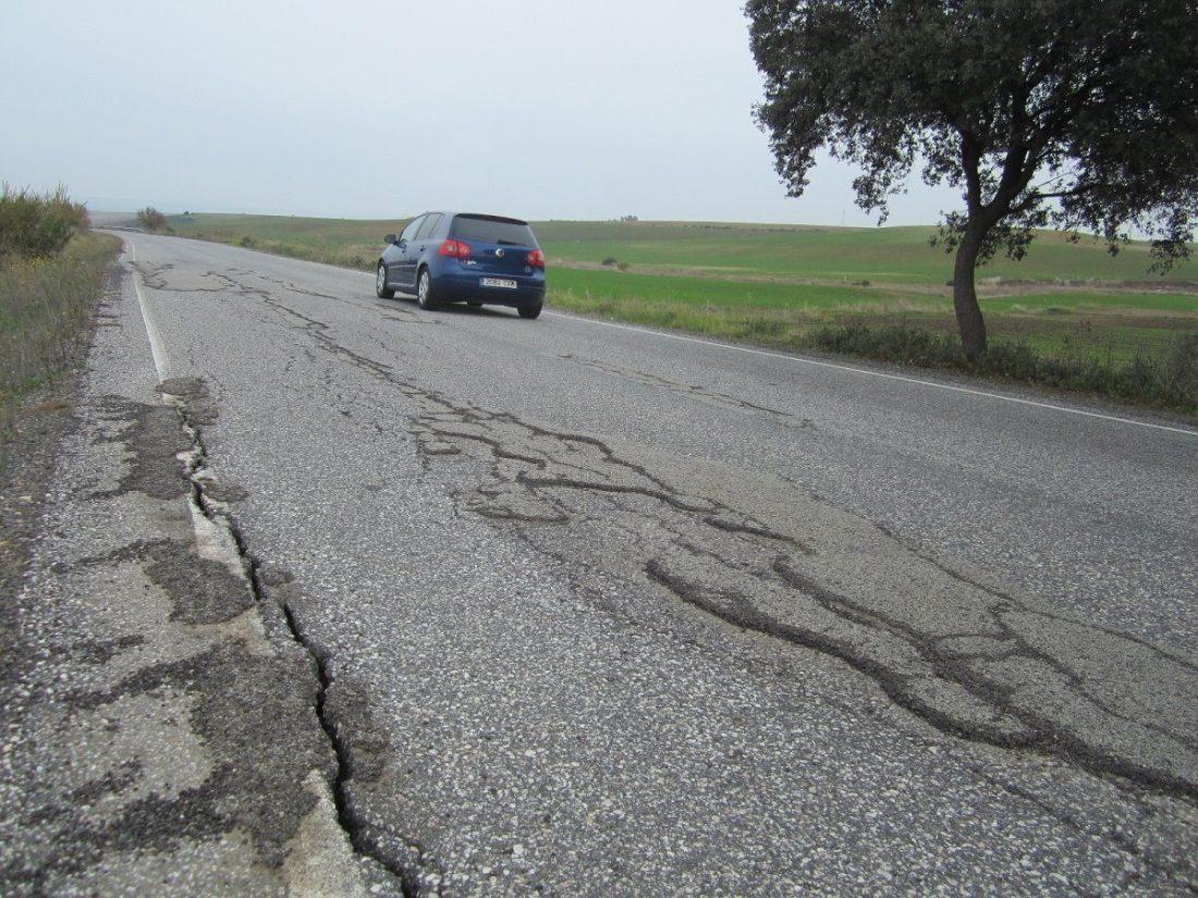 AionSur carretera-Carmona-Guadajoz Carmona pide el arreglo de las carreteras de su término Carmona Provincia