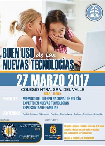 AionSur 32807976153_3a847a87f1 El buen uso de las nuevas tecnologías, tema de un coloquio de la Policía Nacional en un colegio de Écija Ecija Provincia