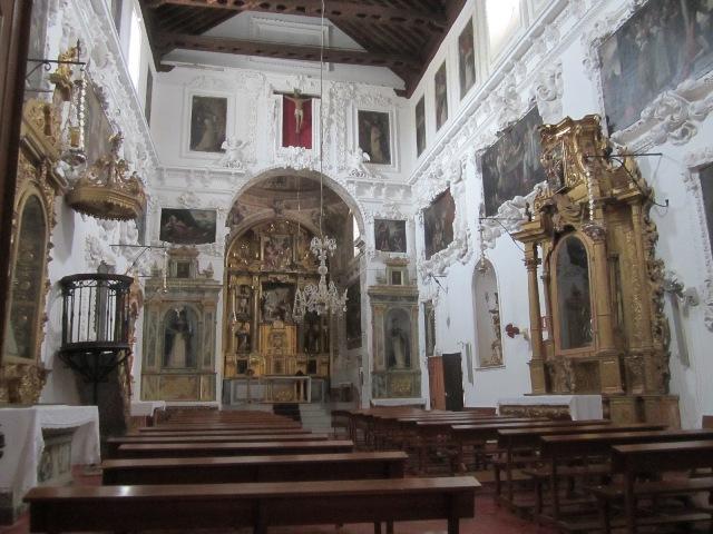 AionSur convento-madre-dios-CARMONA Los conventos de clausura de Sevilla exponen sus tesoros de repostería en El Alcázar Sociedad