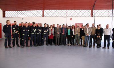 AionSur: Noticias de Sevilla, sus Comarcas y Andalucía foto-400x240 200 mil euros invierte la Diputación en un nuevo parque de bomberos inaugurado hoy Provincia