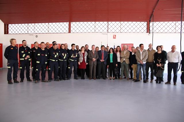 AionSur foto 200 mil euros invierte la Diputación en un nuevo parque de bomberos inaugurado hoy Provincia