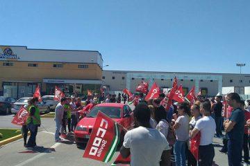 AionSur 33165896973_c1d7b7ac09_z-360x240 Tensión en la primera jornada de huelga en Procavi Andalucía Marchena Sevilla