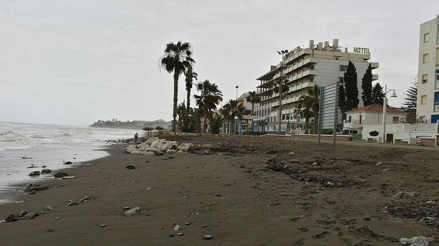 AionSur 34070901921_6d2e1c1a3b_z Olas de casi 8 metros por un temporal de vientos provocan graves daños en playas de Málaga Andalucía Málaga