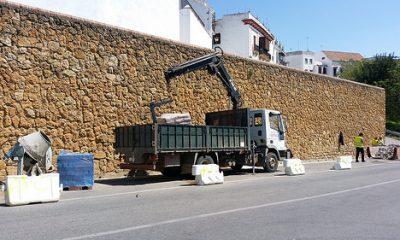 AionSur 34092676335_ab1fe61c71-400x240 Comienza la construcción de un camino peatonal que conectará las puertas de Sevilla y de Córdoba Carmona Provincia