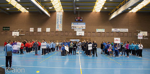 AionSur 34149375272_674fa084a3 Jornada deportiva y festiva en el Pabellón Municipal Asociaciones Sociedad