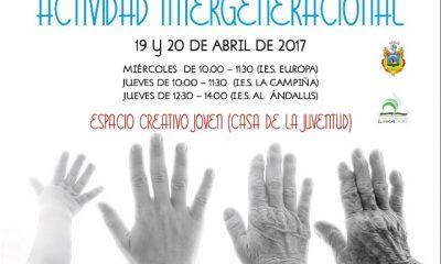 AionSur: Noticias de Sevilla, sus Comarcas y Andalucía CARTEL-ACTIVIDAD-INTERGENERACIONAL-400x240 Bienestar Social organiza un Encuentro Intergeneracional para los días 19 y 20 de abril Arahal Provincia Intergeneracional