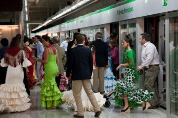 AionSur Feria2-360x240 Metro de Sevilla duplica su oferta de transporte durante el plan especial para la Feria de Abril, que arranca mañana Sevilla