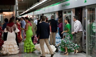 AionSur Feria2-400x240 Metro de Sevilla duplica su oferta de transporte durante el plan especial para la Feria de Abril, que arranca mañana Sevilla