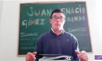AionSur Sin-título-1-400x240 Un joven con síndrome de down hace viral su petición para tener trabajo Andalucía Huelva