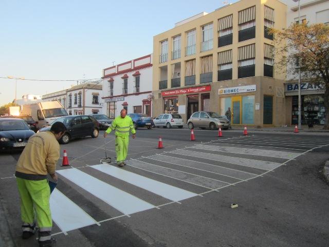 AionSur pasos-peatones-CARMONA Carmona comienza un plan para mejorar 58 pasos de peatones Carmona Provincia pasos peatones