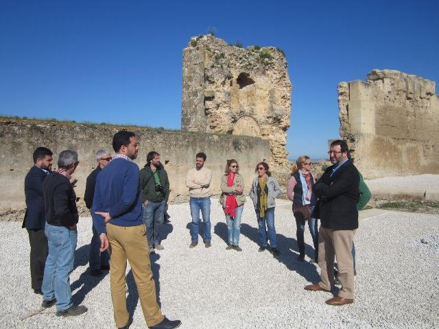 AionSur visita-alcázar-arriba-CARMONA Comienzan las obras que harán visitable el Alcázar del Rey don Pedro Carmona Provincia Rey don Pedro