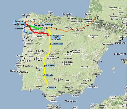 Piden Que Se Conozca La Ruta Del Camino De Santiago Desde Sevilla Aionsur Noticias De Sevilla Sus Comarcas Y Andalucía
