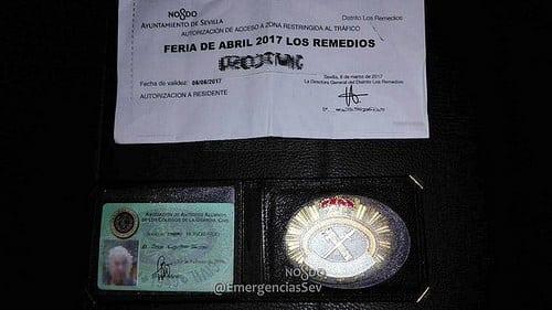 AionSur 34422664355_f12388f2cf Picaresca en la Feria: falsifica un carné de la Guardia Civil para aparcar gratis Andalucía Provincia Sevilla
