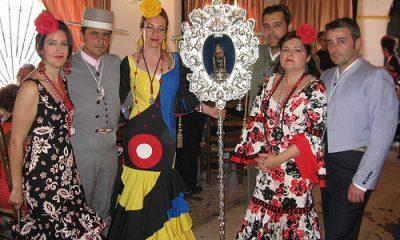 """AionSur 34608487156_bb024d4ddb-400x240 Paga 25.000 euros por tener un año en su casa el """"pendón"""" de La Bella en Lepe Andalucía Huelva"""