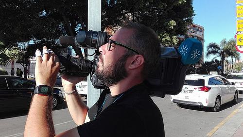 AionSur 34748934745_309ecbabff Estibadores agreden a periodistas que cubrían sus movilizaciones en Algeciras Andalucía Cádiz Provincia