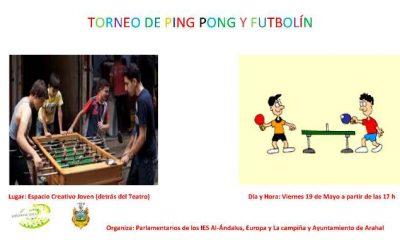 AionSur CARTEL-TORNEO-DE-PING-PONG-Y-FUTBOLÍN-400x240 Ya te puedes inscribir en las actividades de mayo de la delegación de Juventud Arahal Provincia