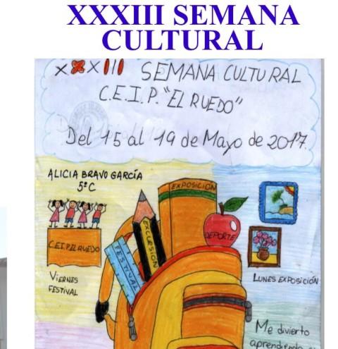 AionSur cartel La Semana Cultural de El Ruedo comienza con varias novedades en su XXXIII edición Deportes Educación