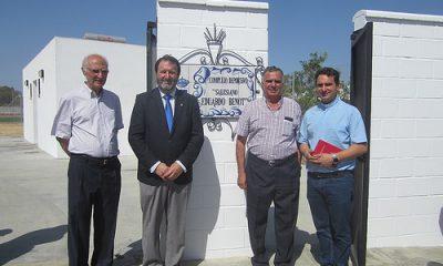 """AionSur 34531303383_9361e6d9ed-400x240 """"Salesiano Eduardo Benot"""", nuevo nombre del polideportivo municipal Carmona Provincia"""