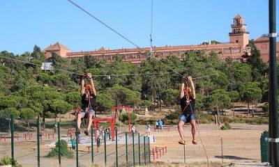 AionSur 35058696674_ff489a3a34-400x240 Islantilla cuenta con la mayor tirolina urbana de Europa Huelva