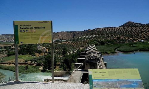 AionSur 35581244131_c1e575f511 Estudian el pantano de Badolatosa para terminar con las restricciones de agua Provincia