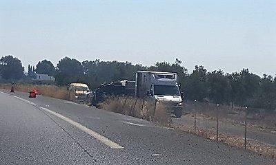 AionSur 35995213991_22c2e242b5-400x240 Herido el conductor de un camión en un accidente en la A-92 Sucesos