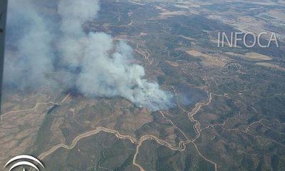 AionSur 36082165265_fa743af505-400x240 Controlado, tras dos días, el incendio forestal de Aznalcóllar Sucesos