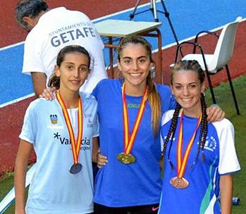 """AionSur 36302958236_6cbe2c05fc_o Valme Prado: """"Conseguir esa medalla tan deseada, defendiendo los colores de mi país, era un sueño"""" Atletismo Deportes"""