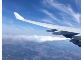 AionSur SinAVION Pánico en un vuelo Madrid-Chicago: dos horas sin avanzar con humo en una de sus alas Sucesos