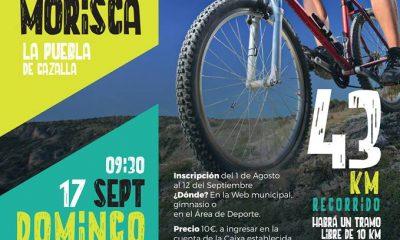 AionSur btt-la-puebla-400x240 Abierto el plazo de inscripción para participar en la IV Marcha BTT Morisca Ciclismo Deportes