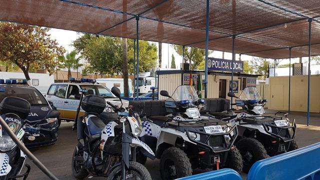 AionSur 20170908_093956 La seguridad de la Feria del Verdeo, un reto en el que participa gran número de efectivos policiales Arahal Feria del Verdeo destacado