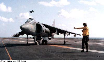 AionSur HARRIER-400x240 Seis nuevos Harrier de los Marines estadounidenses llegan a la Base de Morón Arahal Morón de la Frontera