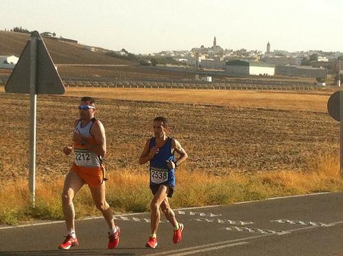 AionSur 37018862204_849770905e Jesús Brenes se corona en la XX Media Maratón Marchena-Paradas Atletismo Deportes