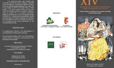 AionSur Sin-título-5-400x240 La Puebla acoge las XIV Jornadas de Historia y Patrimonio de la provincia de Sevilla La Puebla de Cazalla