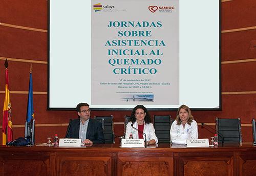 AionSur 1Q8J2295-Baja-500-Píxeles 200 sanitarios andaluces se forman en la Unidad de Quemados del Virgen del Rocío Salud