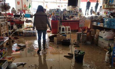 AionSur 20171130_102518-400x240 Los empresarios, indignados por la falta de ayuda del Ayuntamiento ante las inundaciones Arahal