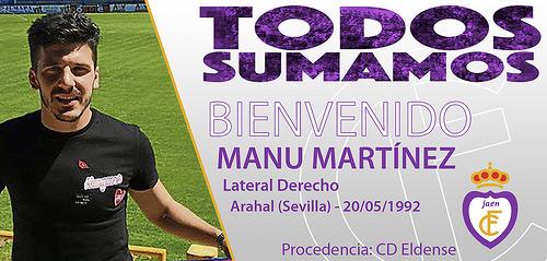 AionSur 38421547666_9db18bfe7e El Real Jaén CF, nuevo equipo del arahalense Manu Martínez Deportes Fútbol