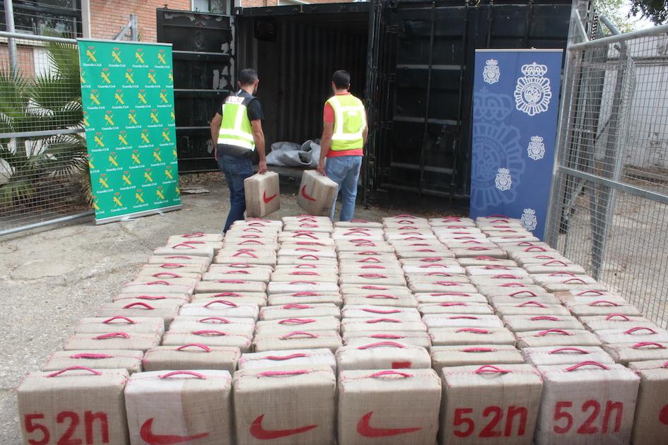 AionSur Guardia-Civil-droga Desarticulada una de las principales bandas de tráfico de hachís de España Sucesos