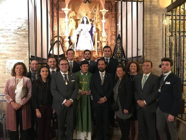 AionSur IMG-20171118-WA0070 La Divina Pastora de Triana ya cuenta con nueva Junta de Gobierno Sevilla