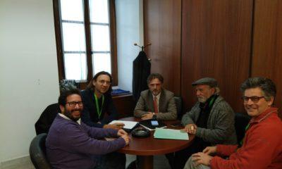 AionSur 171130-Reunión-caminos-públicos-30-11-17-400x240 Colectivos sociales, partidos políticos y gobierno andaluz estudian tramitar una ley de defensa de los caminos públicos Medio Ambiente