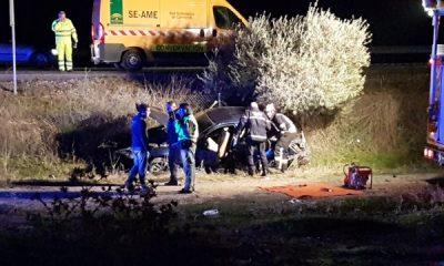 AionSur: Noticias de Sevilla, sus Comarcas y Andalucía 20171222_195529-400x240 Dos heridos, uno de ellos un menor, en un accidente en la A92 a su paso por Arahal Sucesos