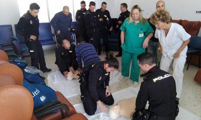 AionSur 38768467781_22533dc20f-400x240 Jornadas formativas sobre primeros auxilios dirigidas a la Policía Nacional de Morón Morón de la Frontera Provincia