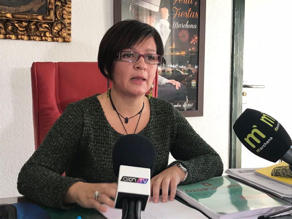 AionSur Alcaldesa-Marchena La UE concede más de millón y medio de euros para dos grandes proyectos de Marchena Marchena Sociedad