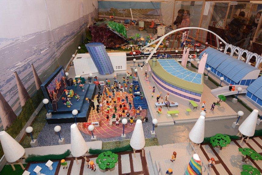 AionSur Playmobil_Tomares Más de 7.000 figuras de Playmobil se pueden ver en Tomares Sociedad