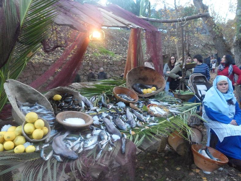 AionSur SAM_6409 Los 700 habitantes de un pueblo de Huelva se vuelcan con su Belén viviente Sociedad