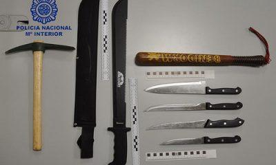 AionSur 24986577007_08f0c236d4-400x240 Detenido un varón por enfrentarse con un machete a agentes de la Policía Nacional de Morón Morón de la Frontera Provincia